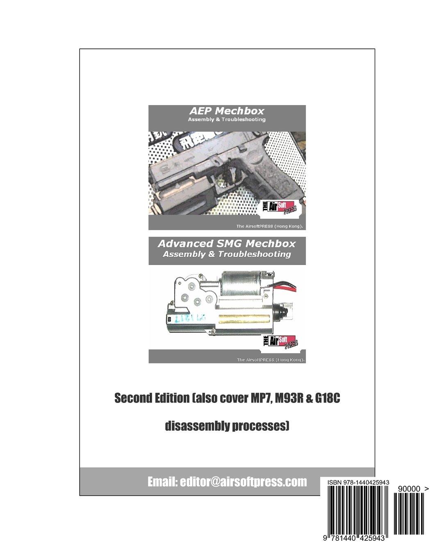 Airsoft Aep Smg Mechbox Upgrade And Maintenance Wiring Diagram 9781440425943 Mechboxpro Airsoftpress Books