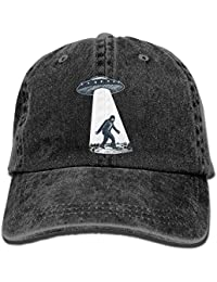 UFO Bigfoot Vintage Adjustable Jean Cap Gym Caps ForAdult