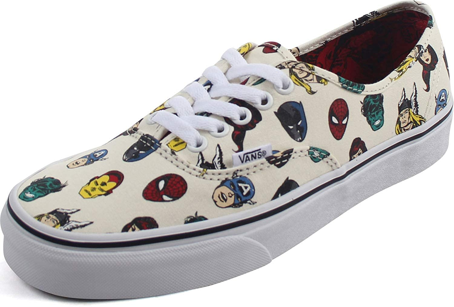 Amazon.com | Vans - Unisex Adult Marvel X Authentic Marvel Heads ...