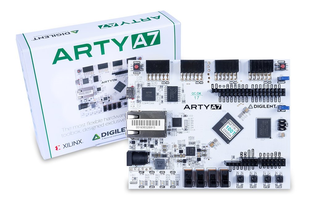 Arty A7: Artix-7 FPGA Development Board for Makers and Hobbyists (Arty A7-35T)