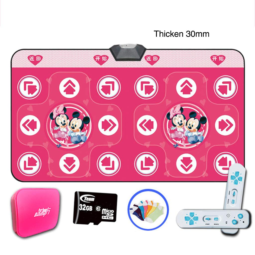Children Dance Mat,Wireless Foldable Dance Pad Fitness Play Mat Dance Revolution Dancing Lose Weight Dancing Blanket-a 166x93cm(65x37inch) by WEWE (Image #1)