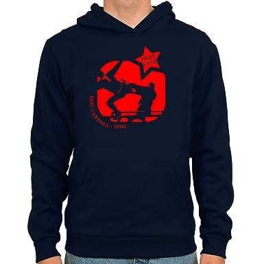 SpielRaum Sudadera Eric Cantona | Fightclub ::: Color: Azul Oscuro :::