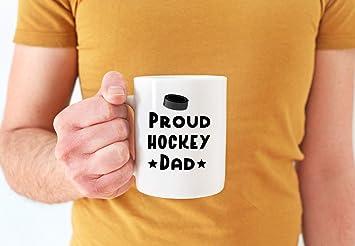 Amazon.com: Hockey Dad Mug Proud Dad Coffee Mug 11oz Or Hockey Gift Coffee Mug For Dad Hockey Father Mug Father Gift From Son: Kitchen & Dining