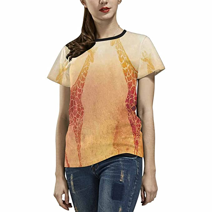 3a4e41f4c6ffc8 Image Unavailable. Image not available for. Color  Quguangyan Womens Tops  Casual Short Sleeve Crew Neck Cotton Plain ...