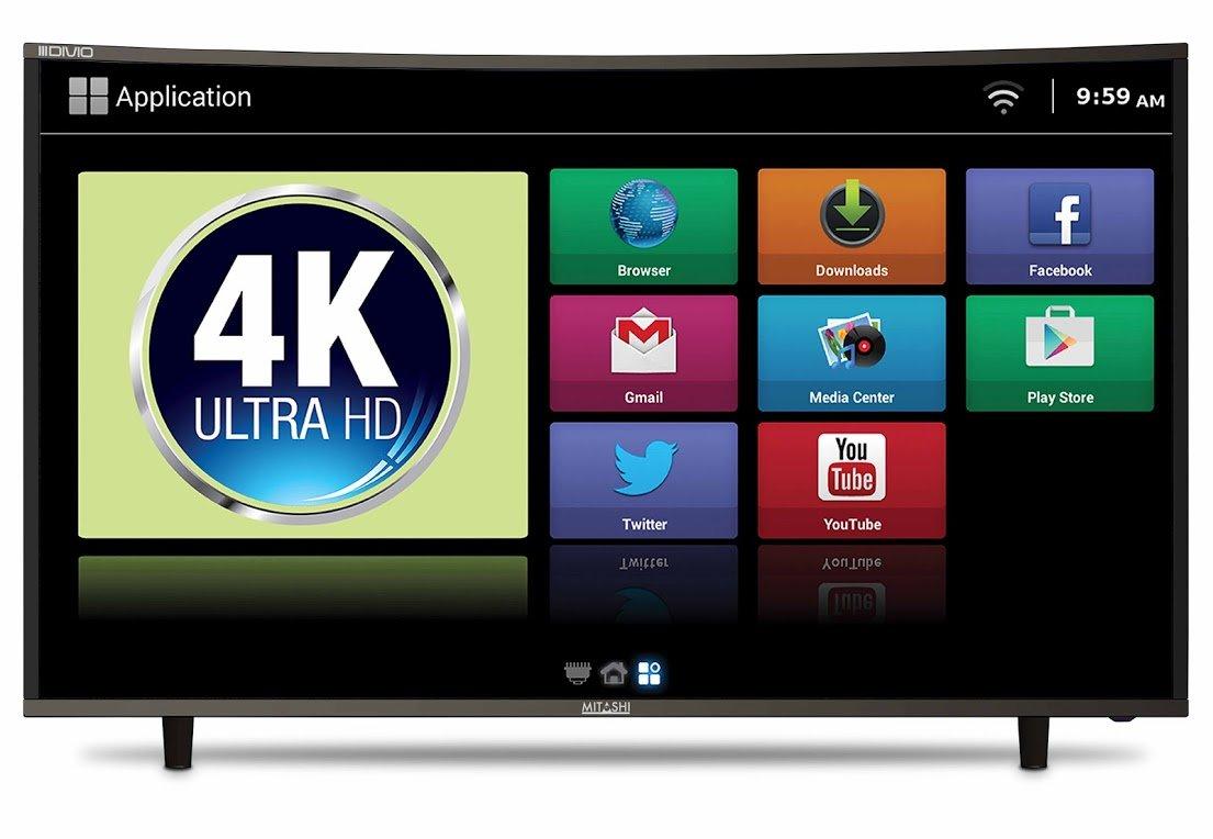 Best 55 inch 4K TVs in India under 60,000 - Haier LE55B9500U 4K UHD LED TV