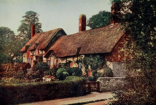 Appletons Magazine 1903 Ann Hathaways Cottage Poster Print by Unknown (24 x 36)