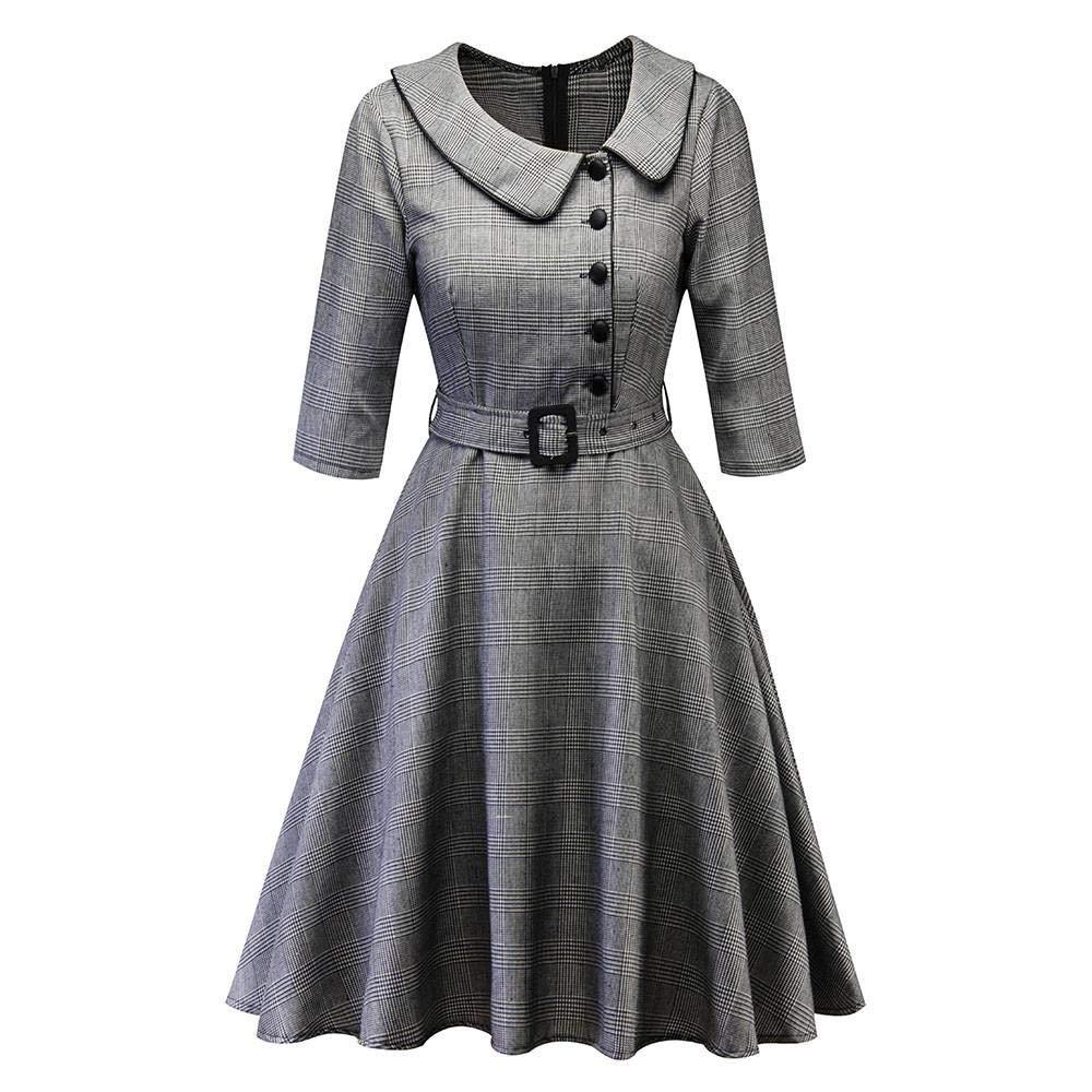 VJGOAL Mujer Primavera Casual Trimestre Vintage Cintura Alta ...
