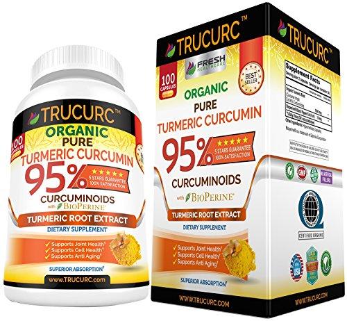 Turmeric Curcumin Curcuminoids Bioperine Certified product image