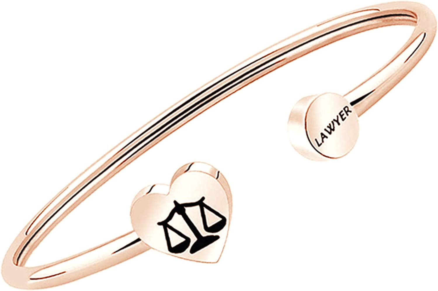 CENWA Lawyer Gifts Scales of Justice Lawyer Bracelet New Lawyer Gift Lawyer Jewelry Law School Graduation Gift New Lawyer Bracelet Attorney Gift Lawyer to Be Gift