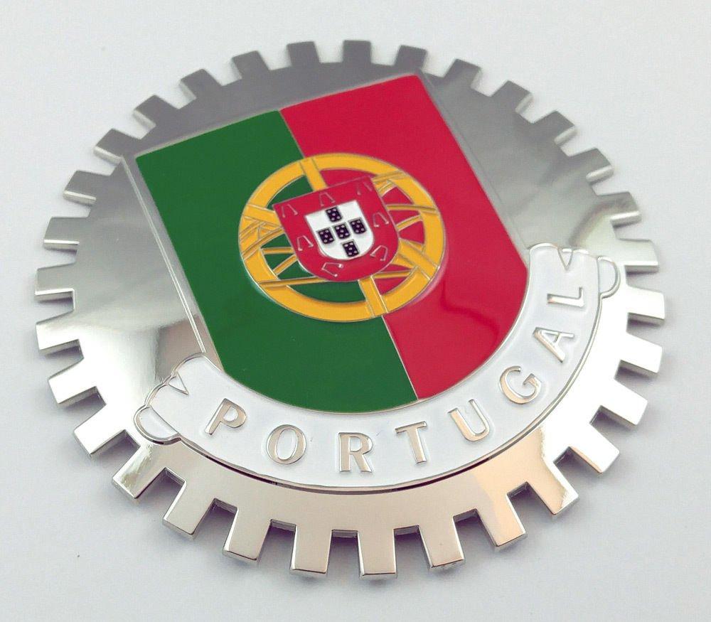 Aplique Parrilla Portugal Bandera portuguesa