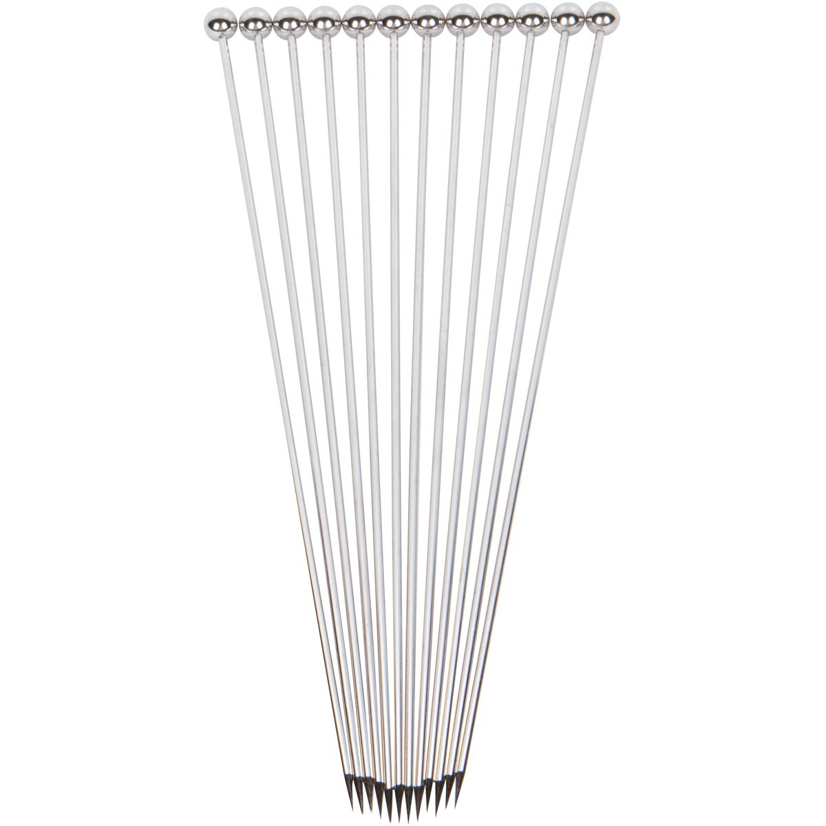 Stainless Steel Cocktail Picks - Extra long 8'' (Set of 12) by Top Shelf Bar Supply (Image #4)
