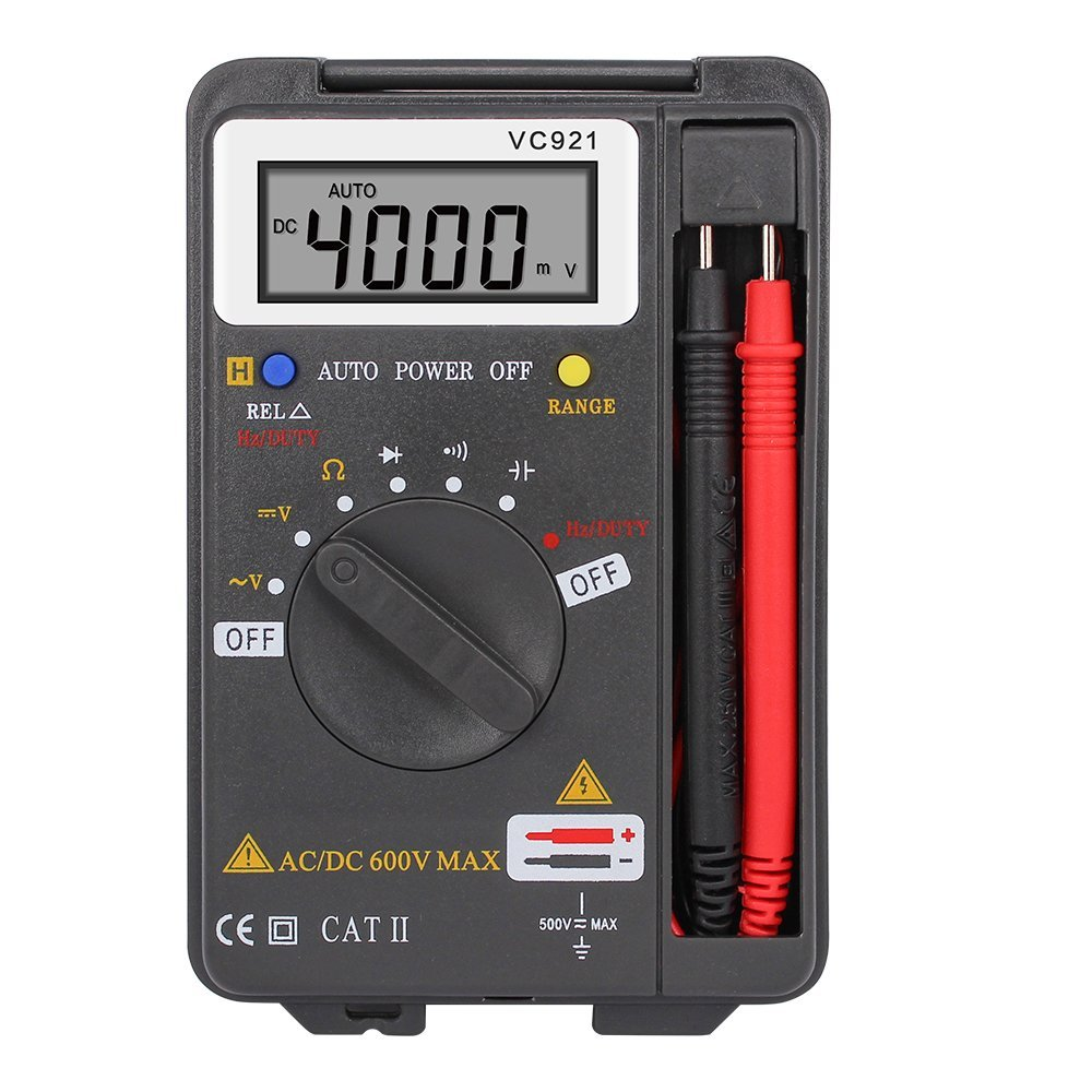 Onepeak Auto Range Digital Multimeter AC DC Current Voltage Frequency Tester 4000 COUNTS