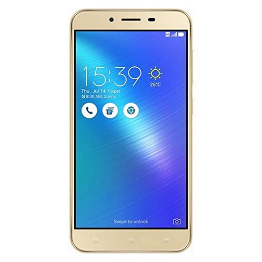(CERTIFIED REFURBISHED) Asus Zenfone 3 Max (Gold, 32GB) Smartphones at amazon