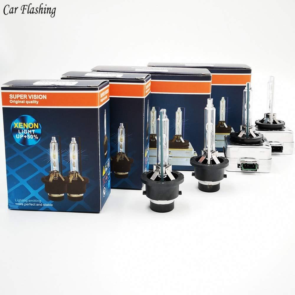 Car flashing 2pcs D1S D2S D3S D4S HID Bulbs CBI HID xenon headlight bulb D1R D2R D3R D4R headlamp 4300K 5000K 6000K 8000K 10000K