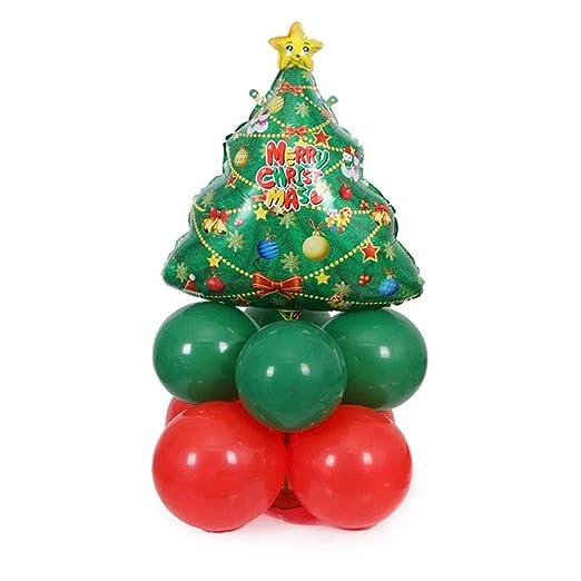 Hosaire Conjunto Globos de Navidad Party Decor Hinchable película ...