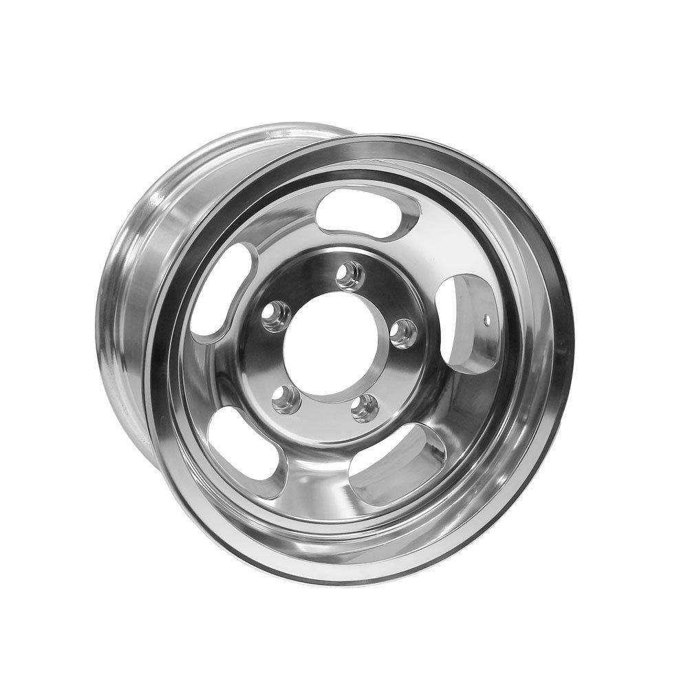 US Mags U101 Indy 15x10 5x139.7 -50mm Polished Wheel Rim