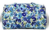 Cheap Vera Bradley Small Duffel (Blueberry Blooms with Blue Interior)