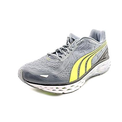 Puma Bioweb Elite NM Mens Size 11.5 Gray Mesh Running Shoes