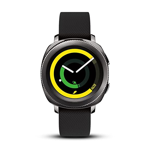 ca4aeccc5 Image Unavailable. Image not available for. Color  Samsung Gear Sport Smartwatch  Bundle ...