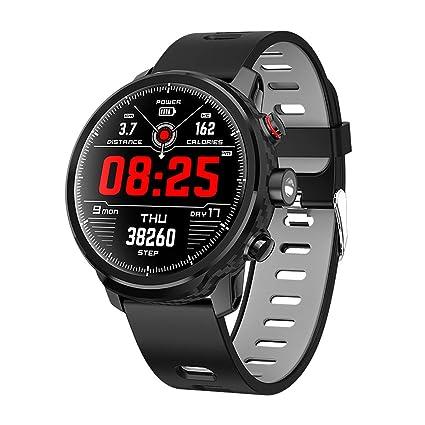 Amazon.com: Y&J Waterproof Smart Watch Bluetooth 4.0 Large ...