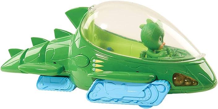 BANDAI PJ Masks Vehículo Deluxe Gekko: Amazon.es: Juguetes y ...