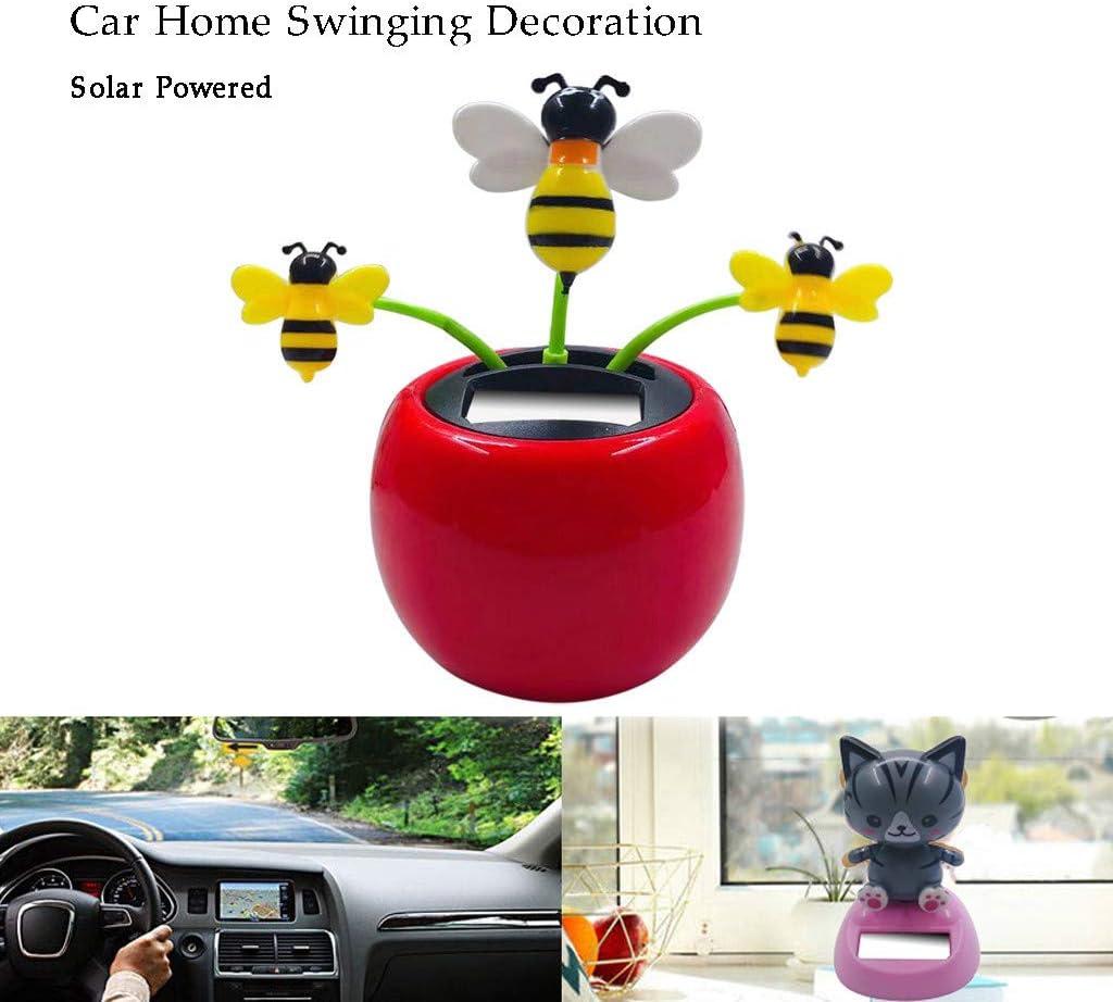 Solar Powered Dancing Swinging Car Dancer Toy Car Windowsill Decoration Toys