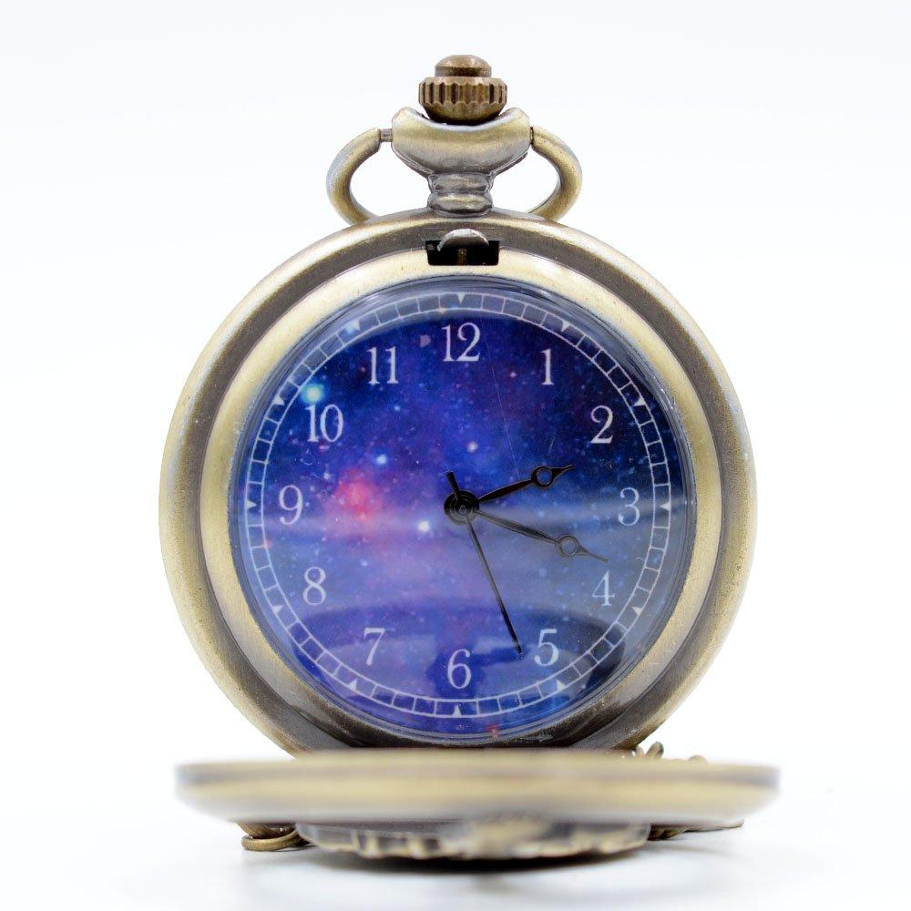 Amazon.com: Cosplay The Little Prince Bronce Reloj de ...