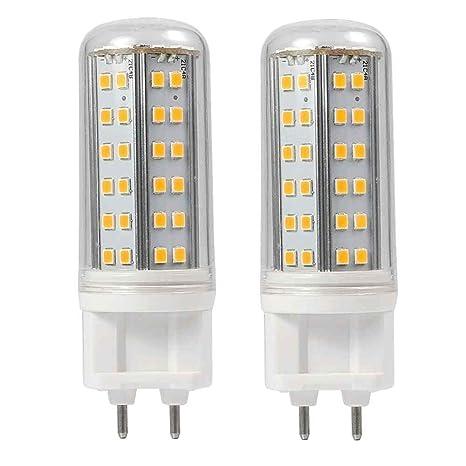 Gran Voo de 2 unidades G12 8 W Blanco Cálido LED Luz con aluminio + PC