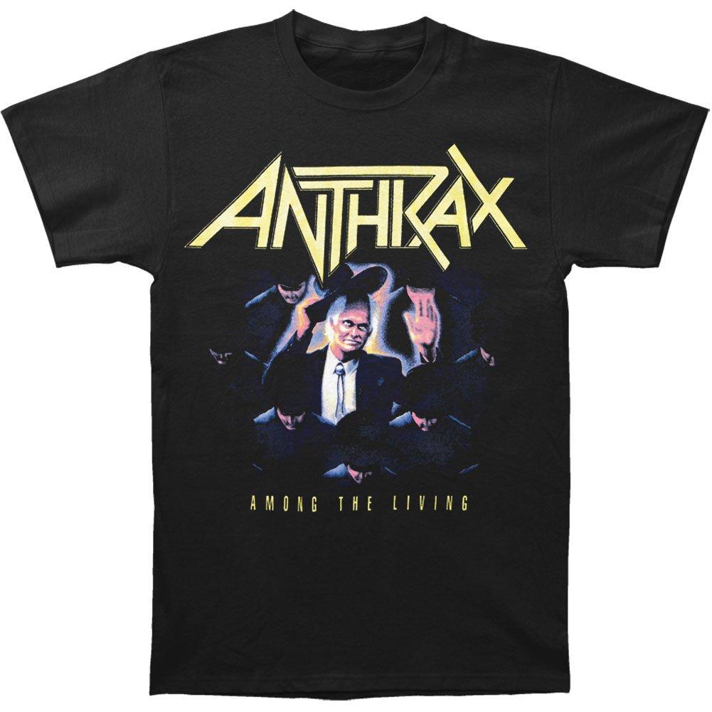 Clothing Global ANTHRAX Band Among the Living Album T-Shirt