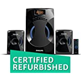 (Certified REFURBISHED) Philips MMS-4545B 2.1 Channel Speakers System (Black)