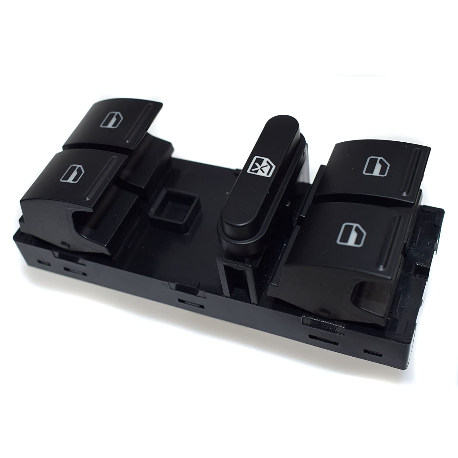 NEW Master Power Window Switch 1Z0959858B For FABIA OCATVIA CC Tiguan Passat B6 2006 2007 2008 2009 2010 2011 2012 Rejog4 Auto