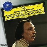 Brahms, Schubert, Beethoven / Arturo Benedetti Michelangeli