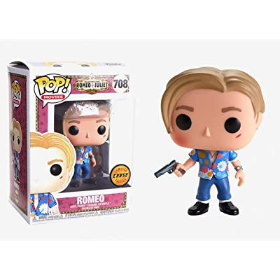 Funko Romeo (Chase Edition): Romeo + Juliet x POP! Movies Vinyl Figure & 1 POP! Compatible PET Plastic Graphical Protector Bundle [#708 / 36327 - B]: Toys & Games