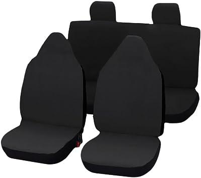 Lupex Shop Citroen C1 Einfarbige Sitzbezüge Grau Auto