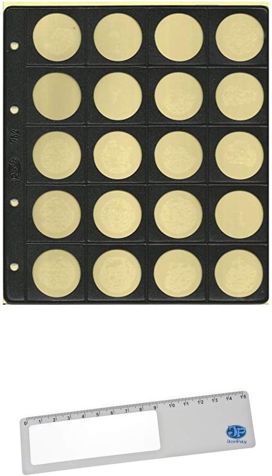 Funda 20 Monedas 31 MM Diámetro 752 Pardo Pte 10-Unidades: Amazon ...