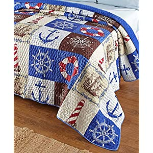 617NfTBuTkL._SS300_ Beach Quilts & Nautical Quilts & Coastal Quilts