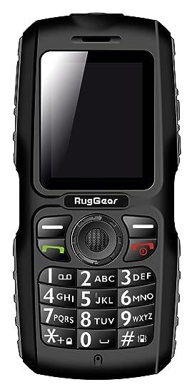 RugGear RG100 Teléfono móvil con Doble SIM – Negro