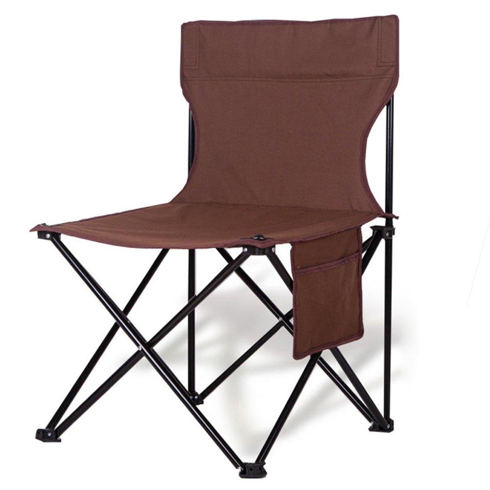 YUJIE Silla Plegable Al Aire Libre Silla De Camping Portátil ...