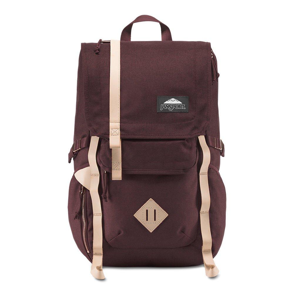 JanSport Hatchet DL Laptop Backpack - Maroon Tweed - Hydration System