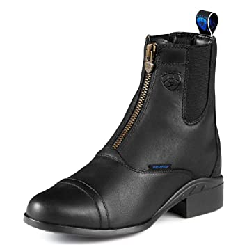 Amazon.com : Ariat Women's Heritage H2o Zipper Riding Boot Round ...