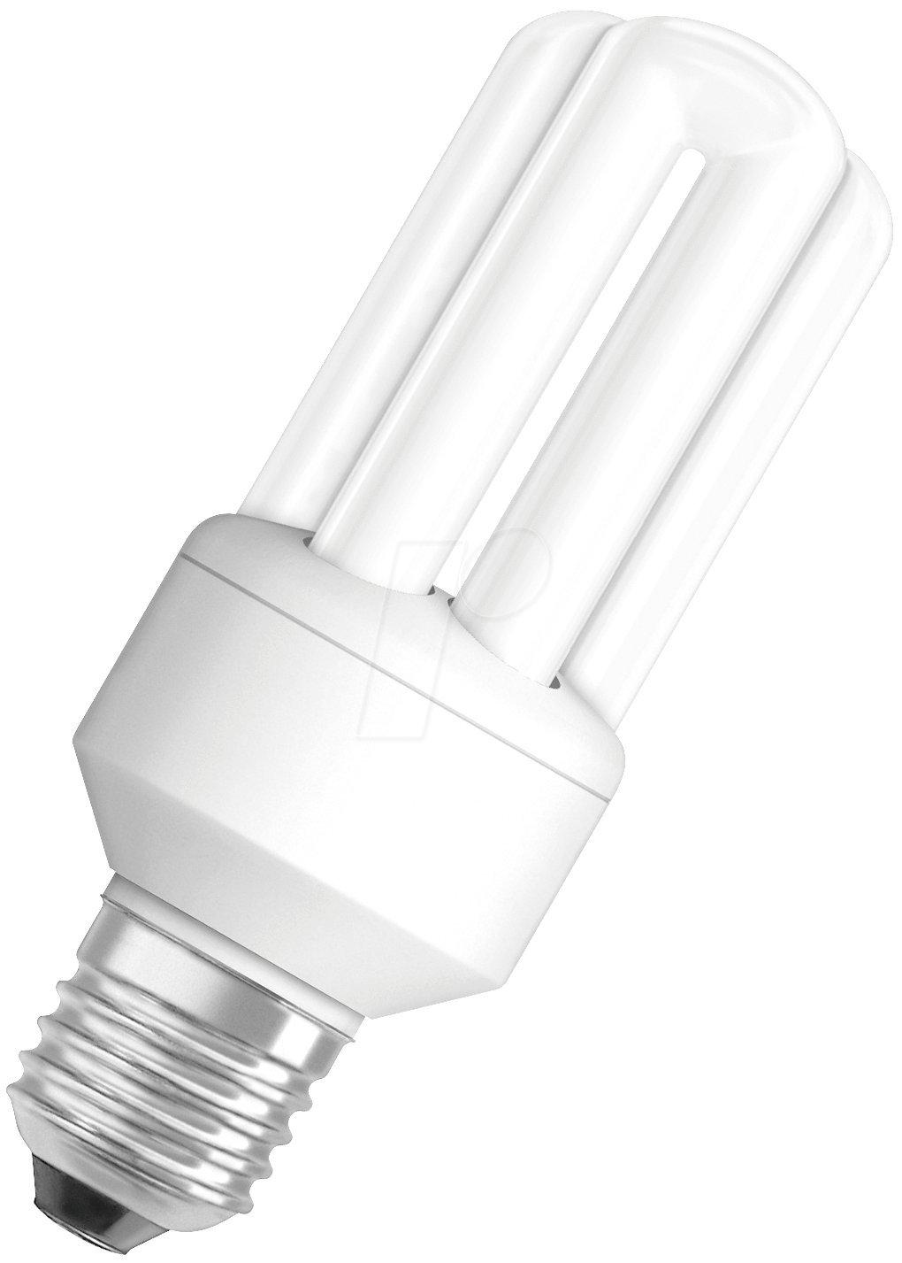 Osram Duluxstar Stick Bombilla de bajo Consumo de Forma Lineal E27, 11 W, Color Blanco 2051661