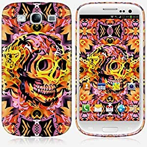 Galaxy S3 case - Skinkin - Original Design : Fire skull by Ali Gulec