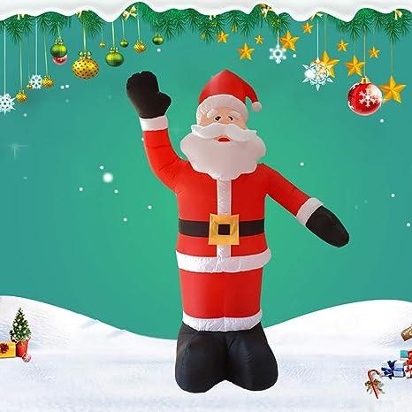 ETH Christmas - Figura hinchable de Papá Noel (2,4 m): Amazon.es: Bebé