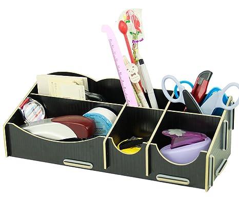 Organizer Ufficio Fai Da Te : Soyoo fai da te per ufficio oranizers box nero: amazon.it