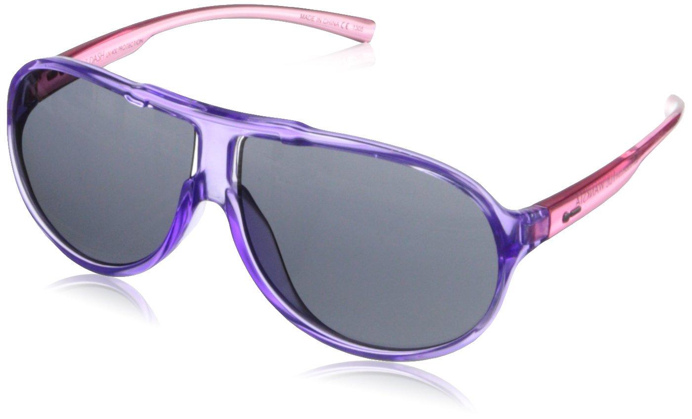 Dot Dash Lil'Wanksta Round Sunglasses,Violet Pink,53 mm by Dot Dash