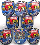 Marvel Universe Mighty Beanz Pack of 4 _ Bundle of 8 Packs