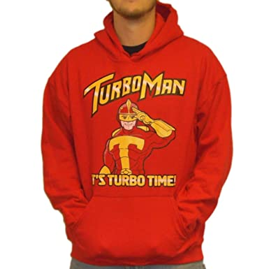 Turbo Man Its Turbo Time Hoodie-Small Hoodie