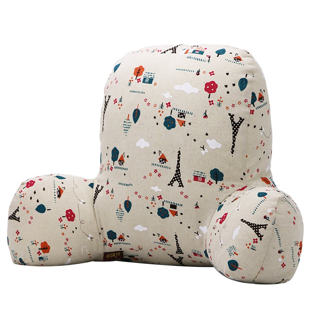 Tower Lumbar Support Pillow Tower Reading Pillow Lounger Bed Rest Sleeping Pillow Waist Back Support Cushion for Office Chair Car Seat Cushion (XL) Crazy lin