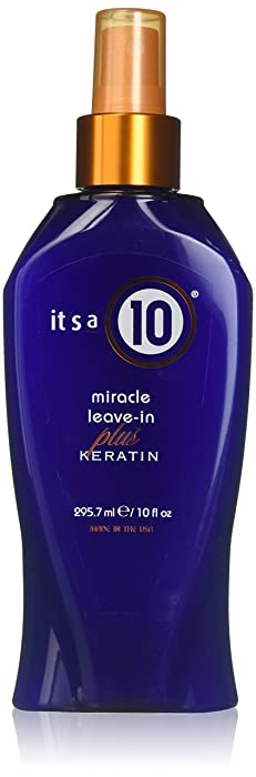 ITS A 10 by It's a 10 MIRACLE LEAVE IN PLUS KERATIN 10 OZ ( Package Of 2 )