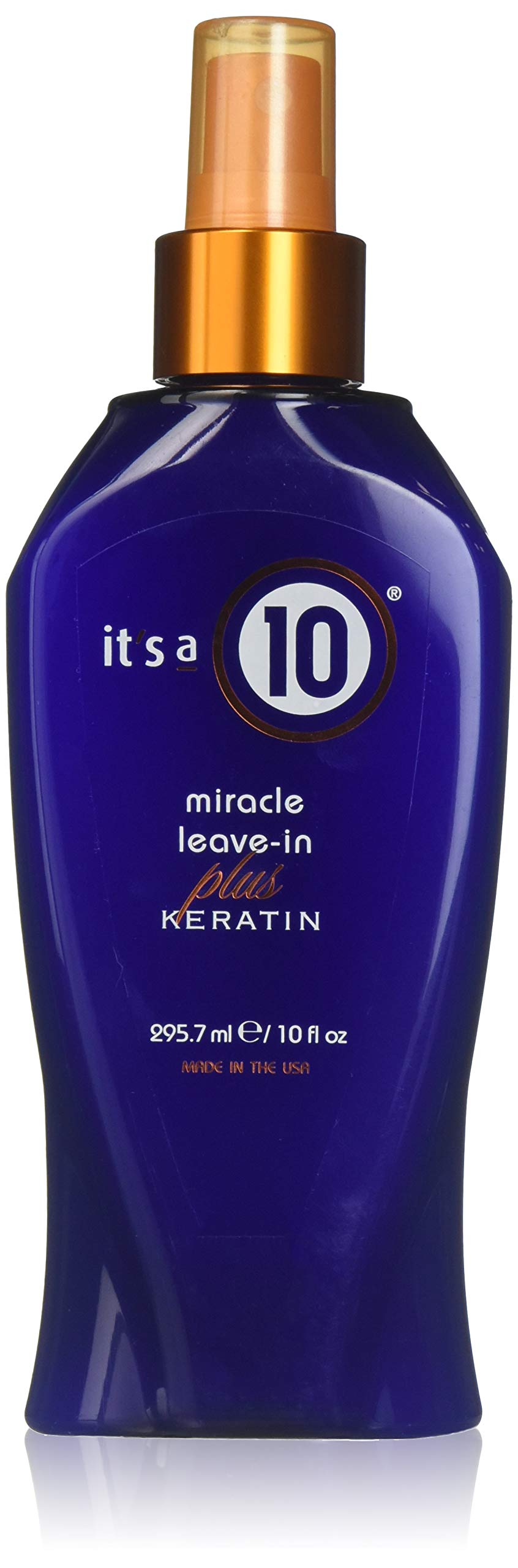 ITS A 10 by It's a 10 MIRACLE LEAVE IN PLUS KERATIN 10 OZ ( Package Of 2 ) by It's a 10 (Image #1)